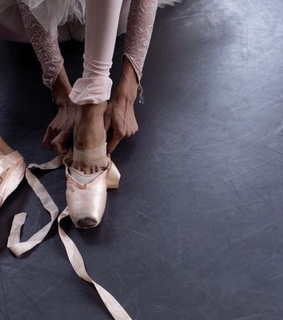 ballet, pointe shoes and dancer