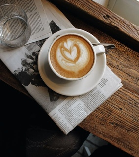 drink, coffee art and hot