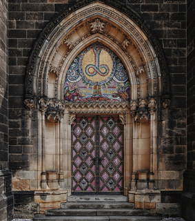 aesthetic, door and cathedral