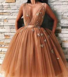 evening dresses, golden prom dresses and prom dresses