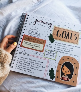 happy, journal and things