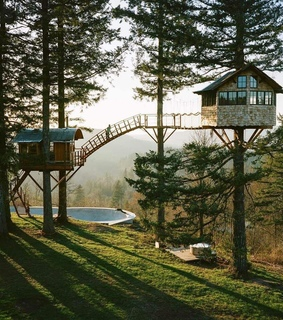 cabin love, cabins and tree house