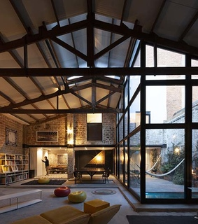 glass, dream house and renovation