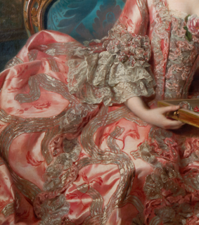 rococo, fashion and art detail