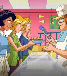 cartoon characters and totally spies