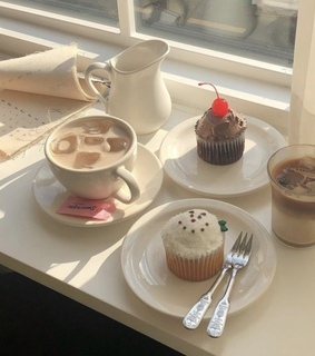 cupcake, food and aesthetic