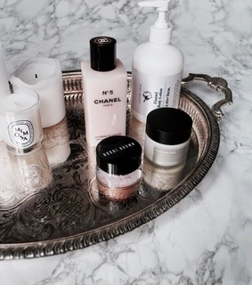 products, marble and cleanser