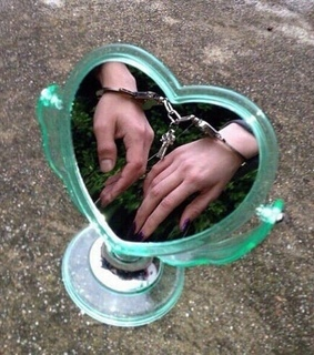 grunge, handcuffs and couple