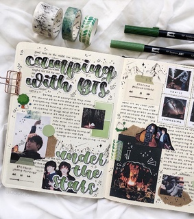 aesthetic, asian and scrapbook
