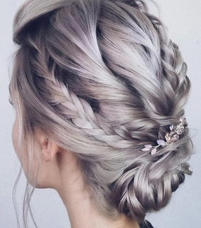 silver, fantasy and hair colour