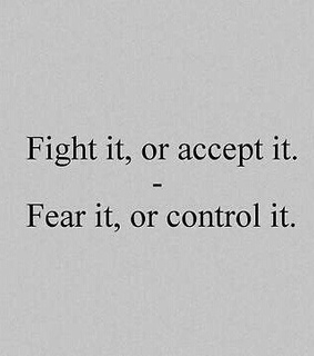 fight, fear and or