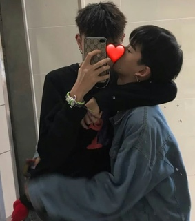 cute couple, lgbt and gay couple