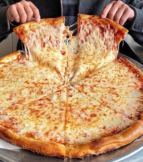 cheese, snacks and pizza