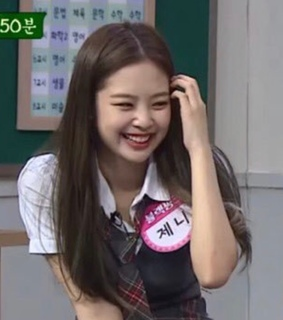 jennie and school girl