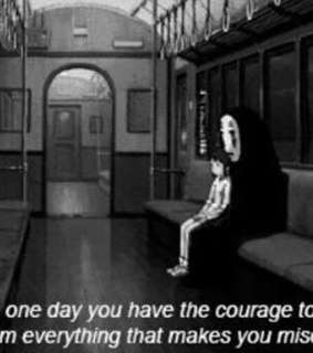 grunge, creepy and quotes