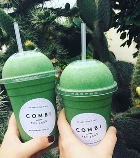 quotes, combi and green aesthetic