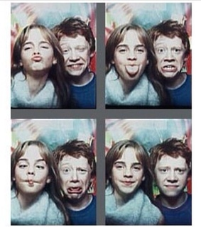 rupert grint, emma and harry