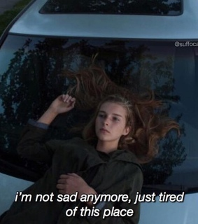 saying, tired and depression