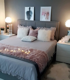 gris, lights and rose