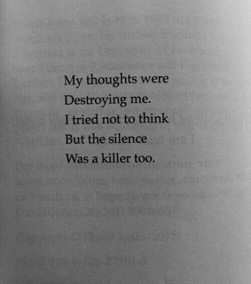 yourself, destroy and thoughts