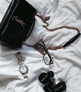 yves saint laurent, bag and self care