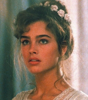 woman, brooke shields and le lagon bleu