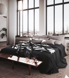 bedroom, dream and view