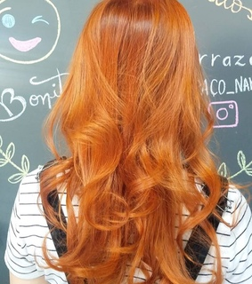 copper, hair and aesthetic