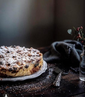 food photography, almond and food styling