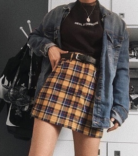 grunge, aesthetic and outfit inspo