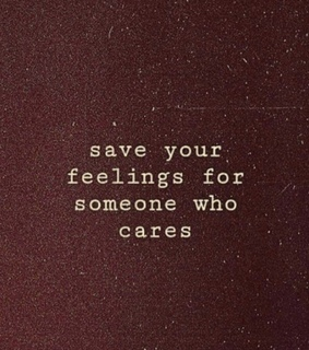 cares, feelings and save