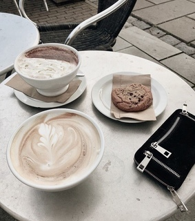 coffee, ice cream and accessories
