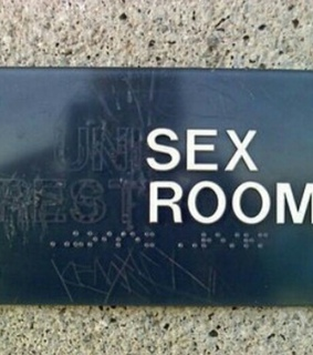 sex, humour and room
