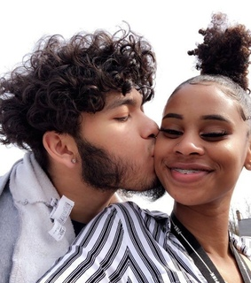 curly hair, couples and young