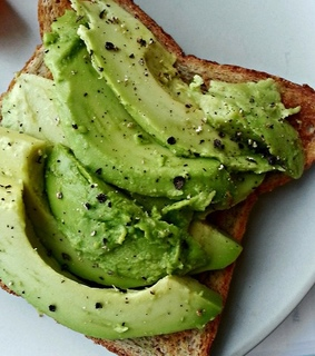 lunch, pepper and avocado