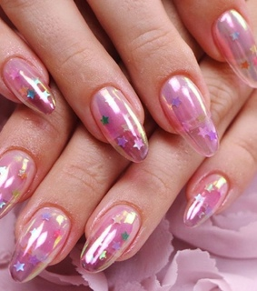 girls, inspiration and nail style