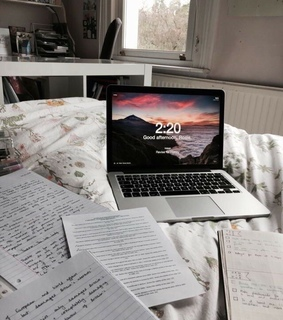 cute, study and work