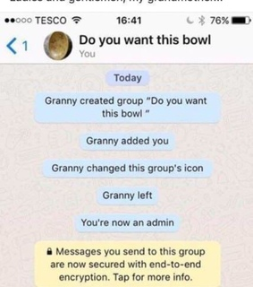 whatsapp, do you want this bowl and funny