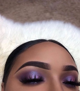 purple, beauty and lashes