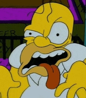 homer, mood and the simpsons