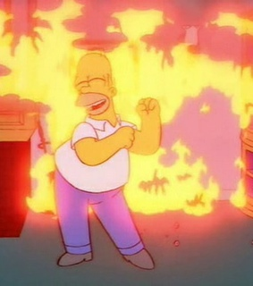 mood, fire and the simpsons