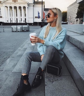 girl, beauty and starbucks