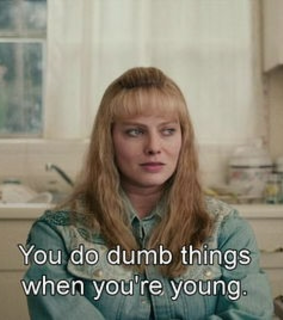 young, subtitles and people