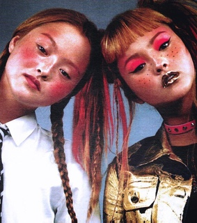 Devon Aoki, Moschino and beauty