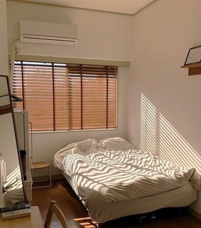 bedroom, interior and modern