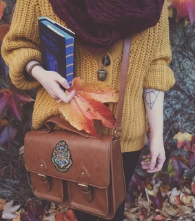 aesthethic, autumn and book