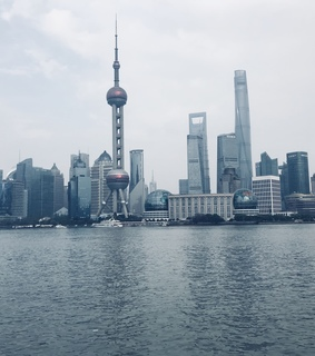 shanghai, travel and china