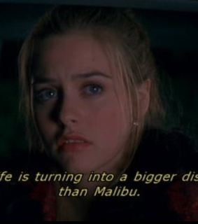 1995, problems and alicia silverstone