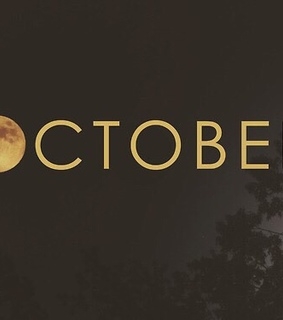 october, month and hello october