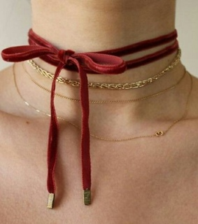 fashion, rebel and necklace